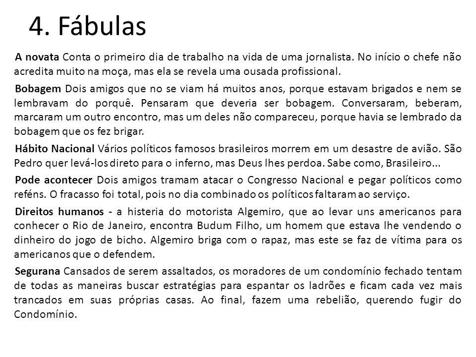 4. Fábulas