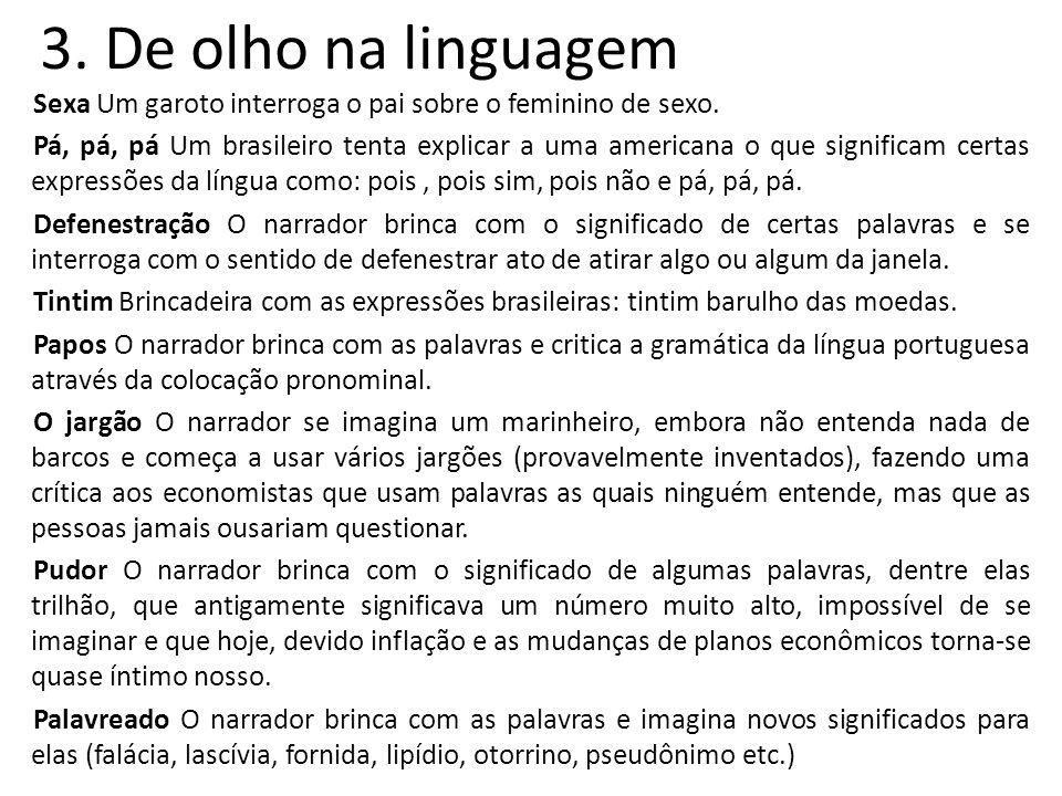 3. De olho na linguagem