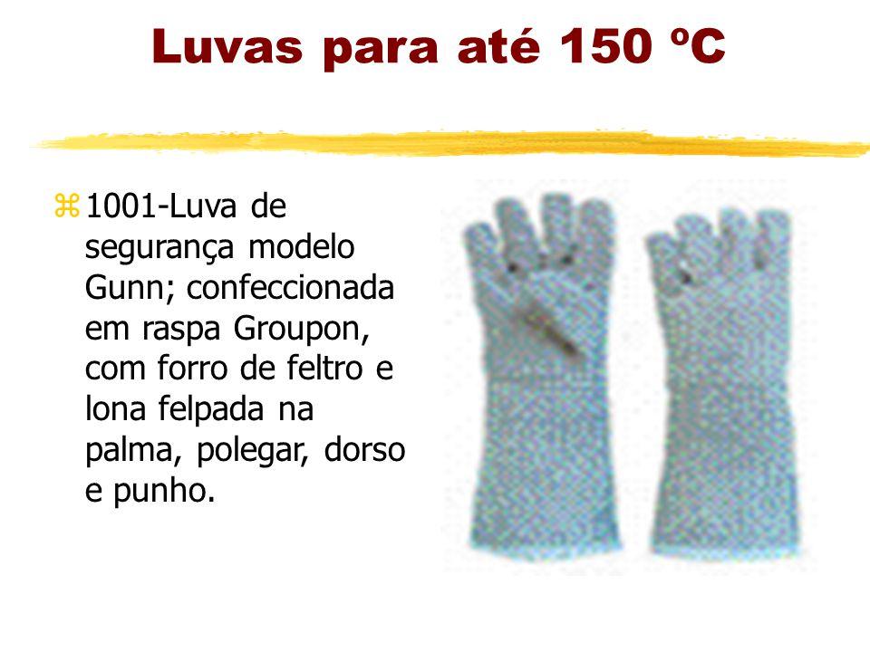 Luvas para até 150 ºC