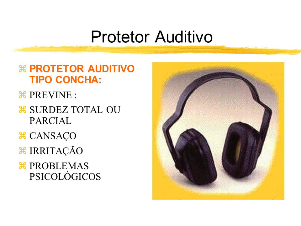 Protetor Auditivo PROTETOR AUDITIVO TIPO CONCHA: PREVINE :