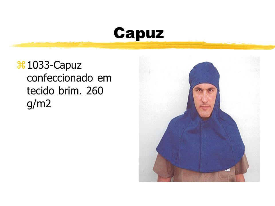 Capuz 1033-Capuz confeccionado em tecido brim. 260 g/m2