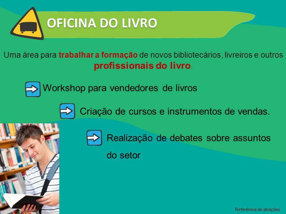 OFICINA DO LIVRO Workshop para vendedores de livros