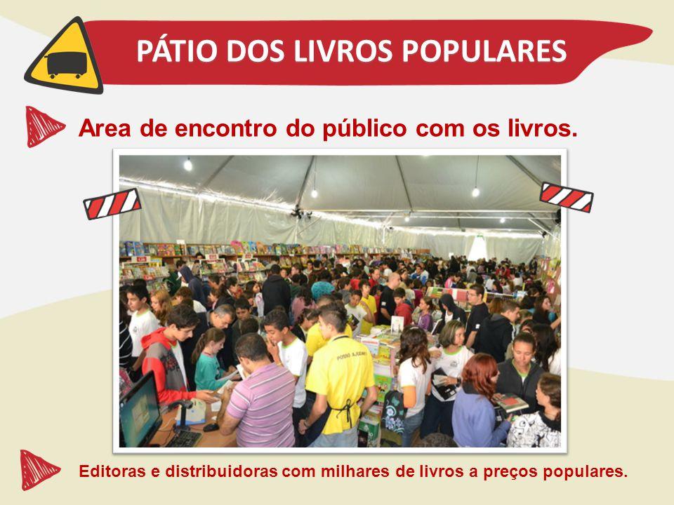 PÁTIO DOS LIVROS POPULARES
