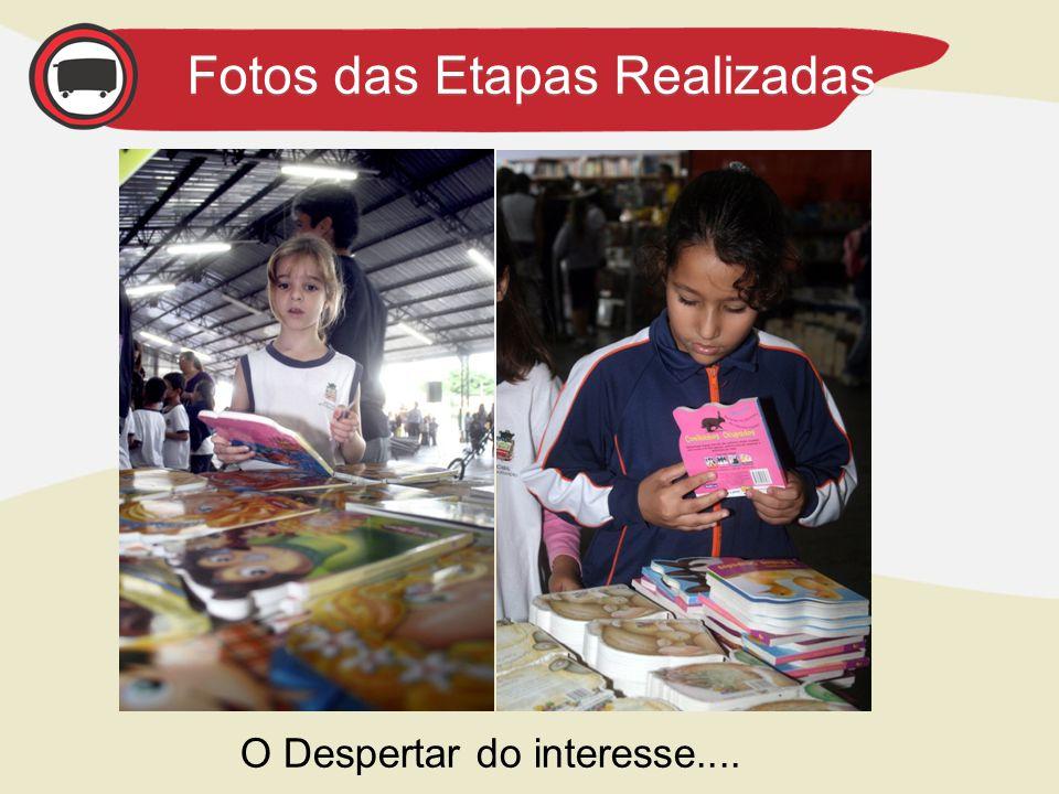 AGENDA – Próximas Etapas Fotos das Etapas Realizadas