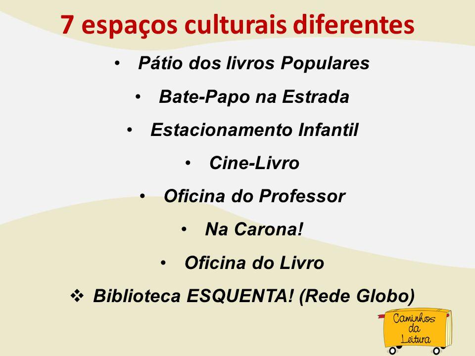 7 espaços culturais diferentes