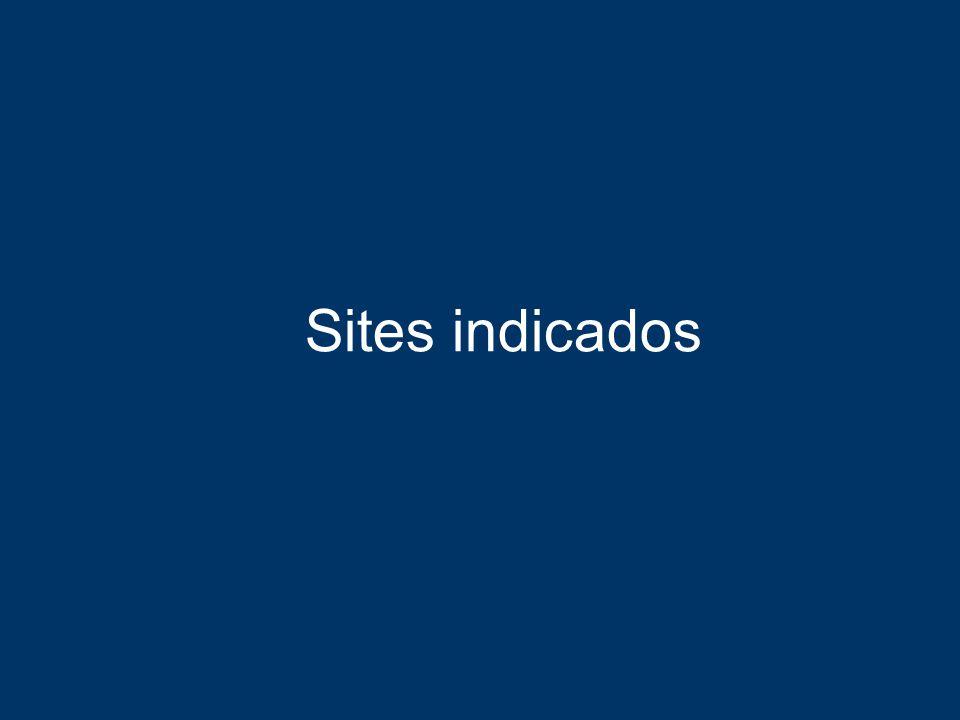 Sites indicados
