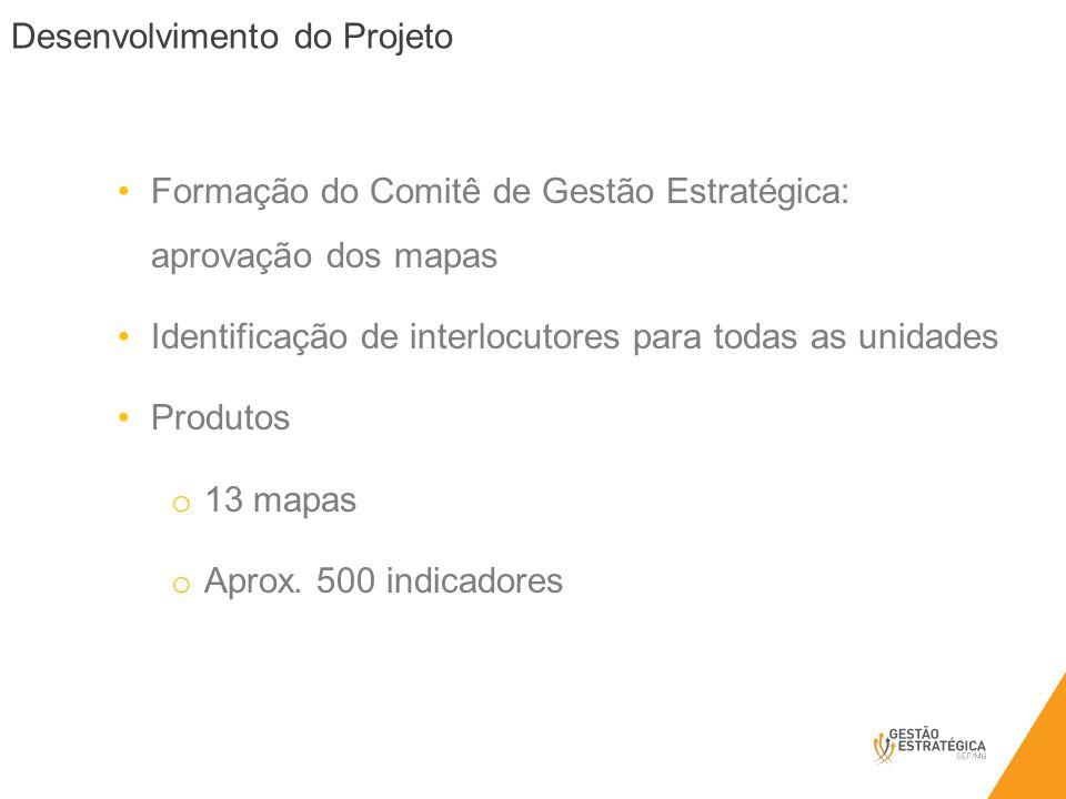 Formação do Comitê de Gestão Estratégica: aprovação dos mapas