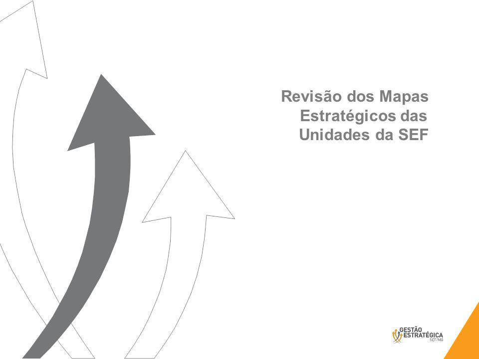 Revisão dos Mapas Estratégicos das Unidades da SEF