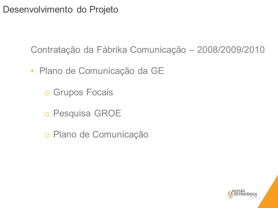 Contratação da Fábrika Comunicação – 2008/2009/2010