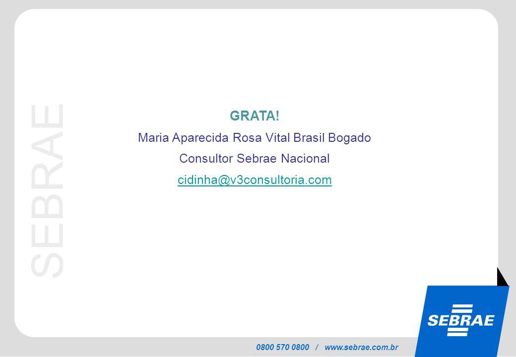 GRATA! Maria Aparecida Rosa Vital Brasil Bogado