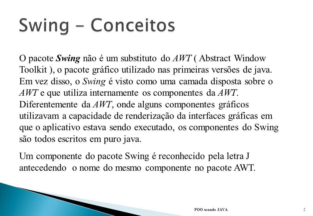Swing - Conceitos