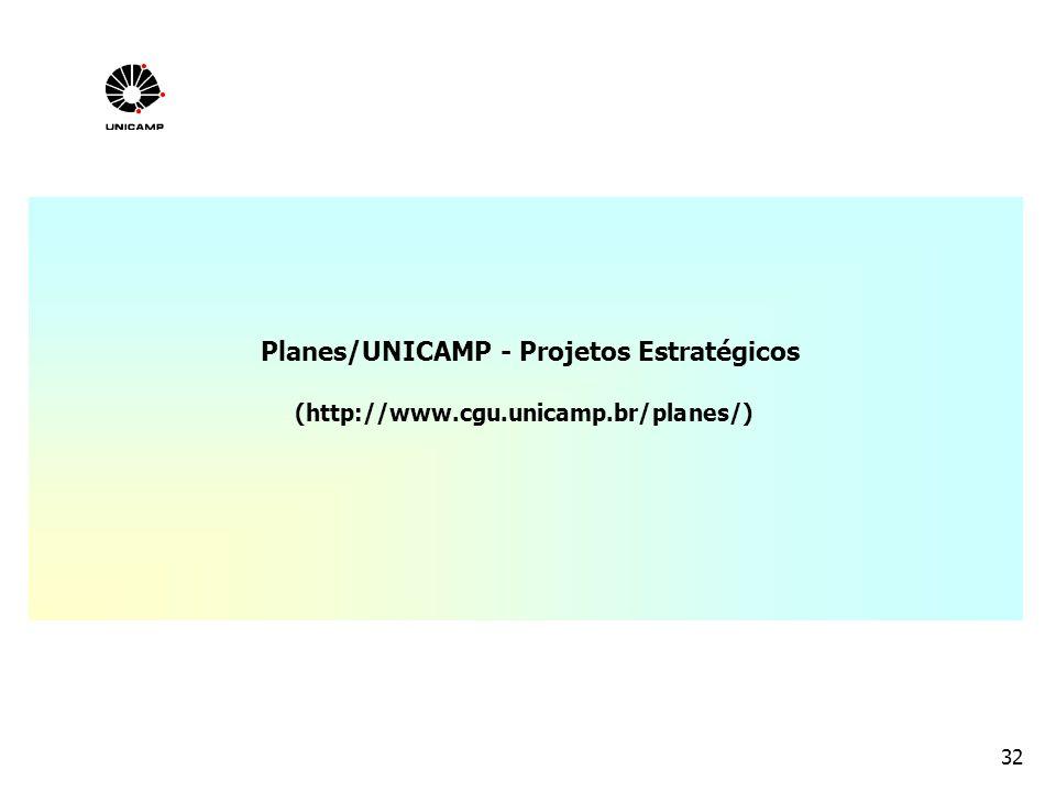 Planes/UNICAMP - Projetos Estratégicos