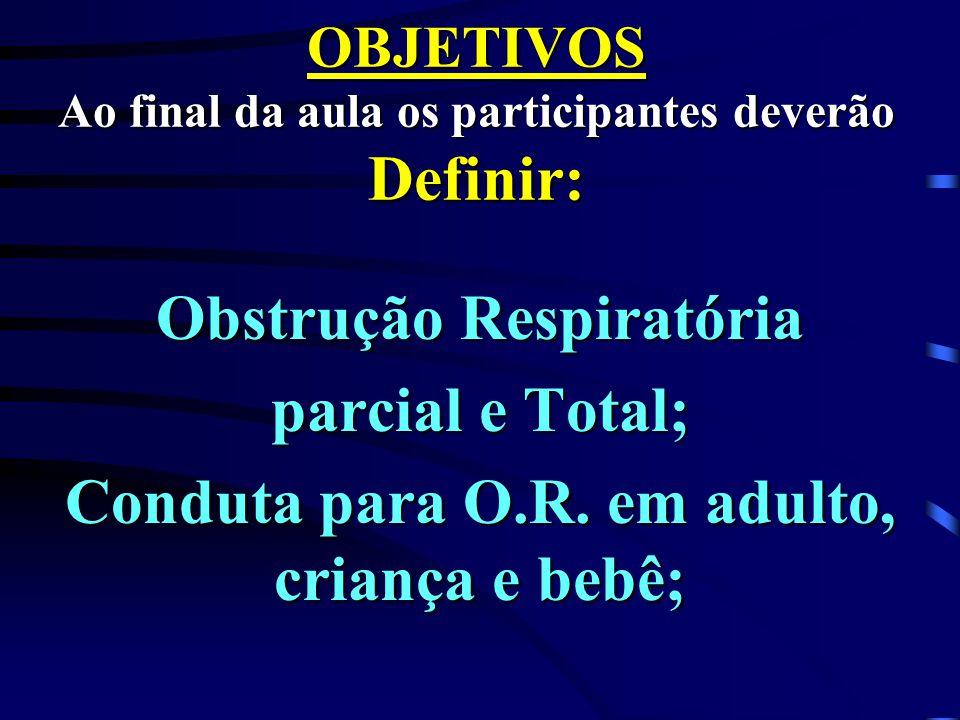 OBJETIVOS Ao final da aula os participantes deverão Definir: