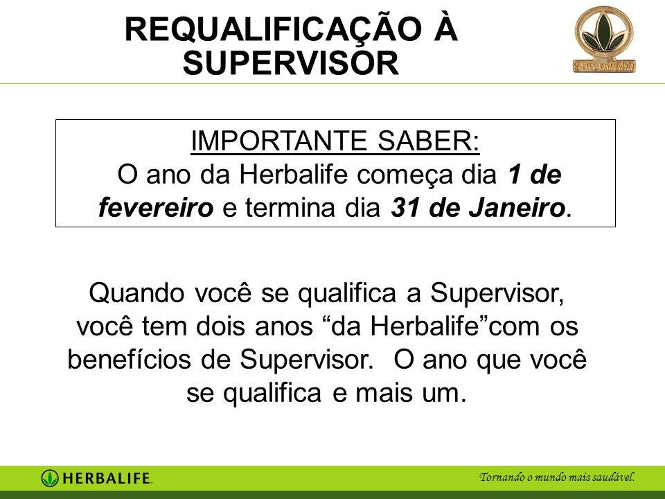 IMPORTANTE SABER: O ano da Herbalife começa dia 1 de fevereiro e termina dia 31 de Janeiro.