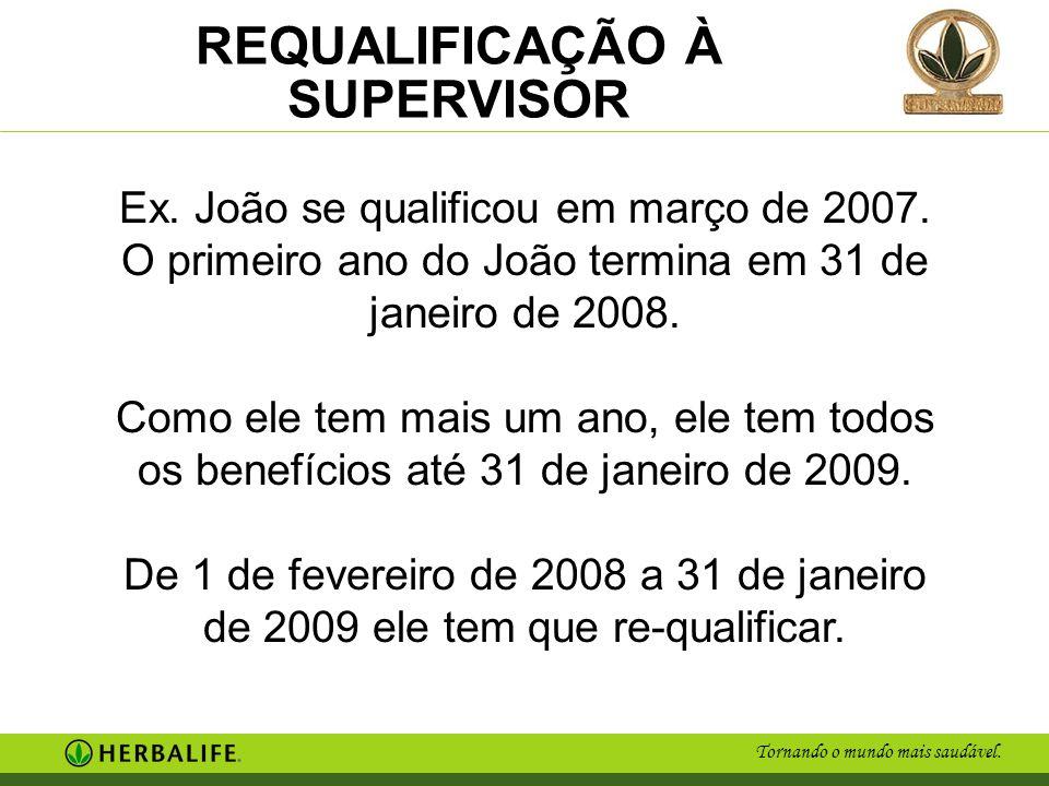 Ex. João se qualificou em março de 2007