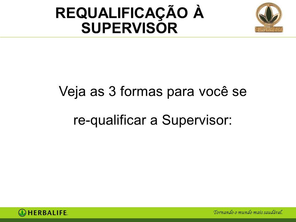 Veja as 3 formas para você se re-qualificar a Supervisor: