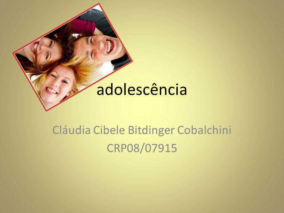 Cláudia Cibele Bitdinger Cobalchini CRP08/07915