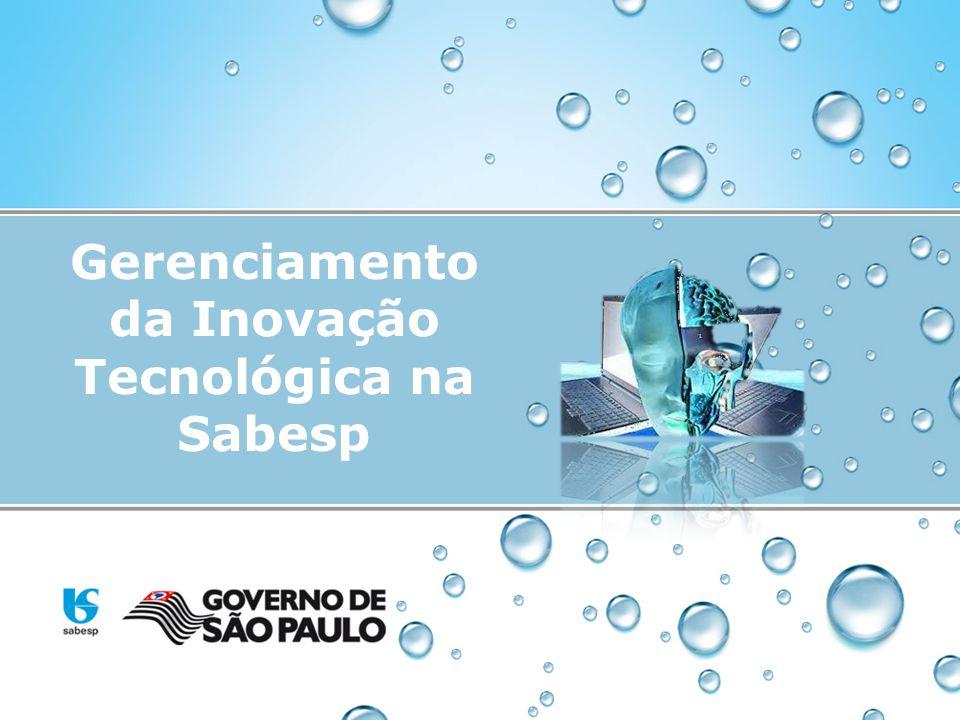 Gerenciamento da Inovação Tecnológica na Sabesp