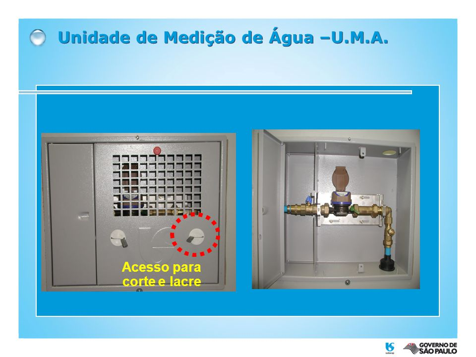 Unidade de Medição de Água –U.M.A.