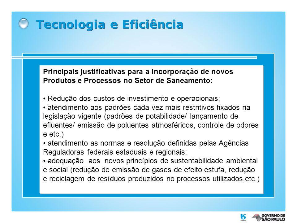 Tecnologia e Eficiência