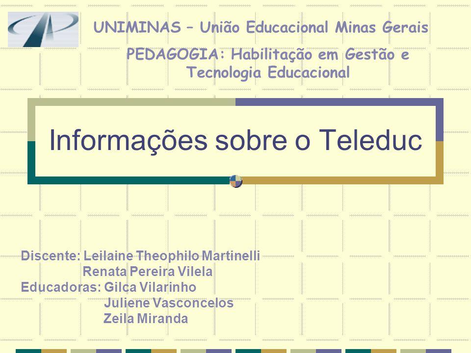 Informações sobre o Teleduc