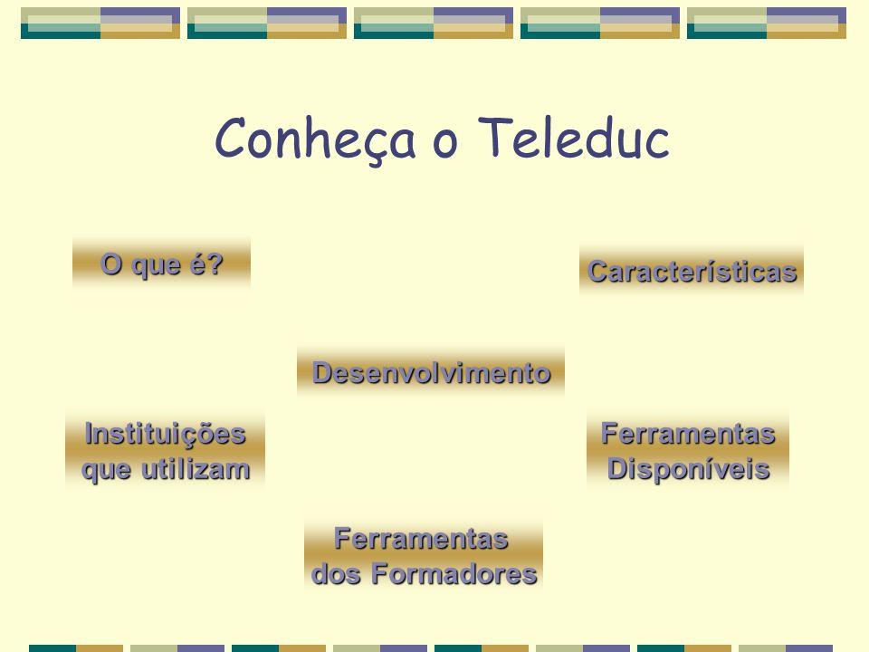 Conheça o Teleduc O que é Características Desenvolvimento