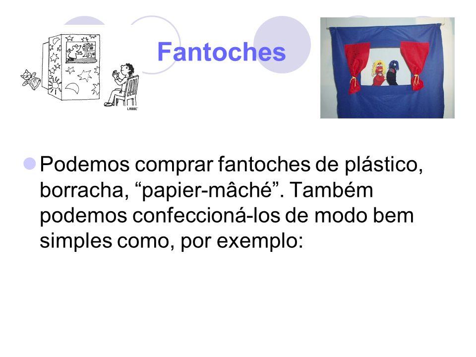 Fantoches Podemos comprar fantoches de plástico, borracha, papier-mâché .