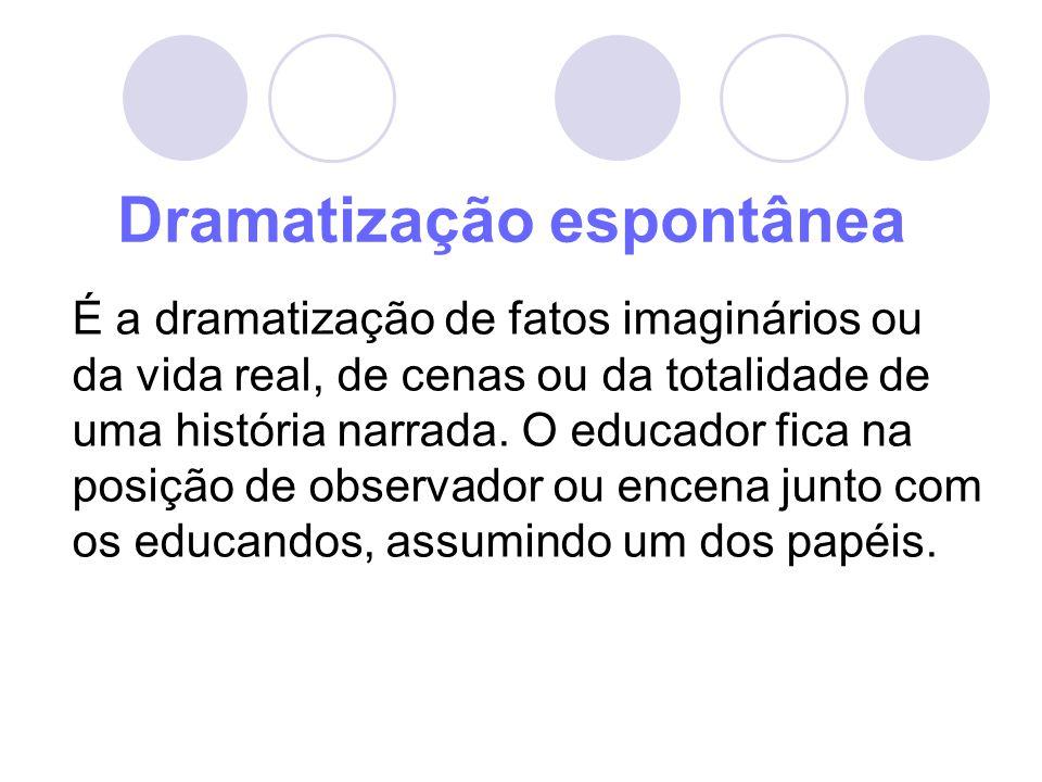 Dramatização espontânea