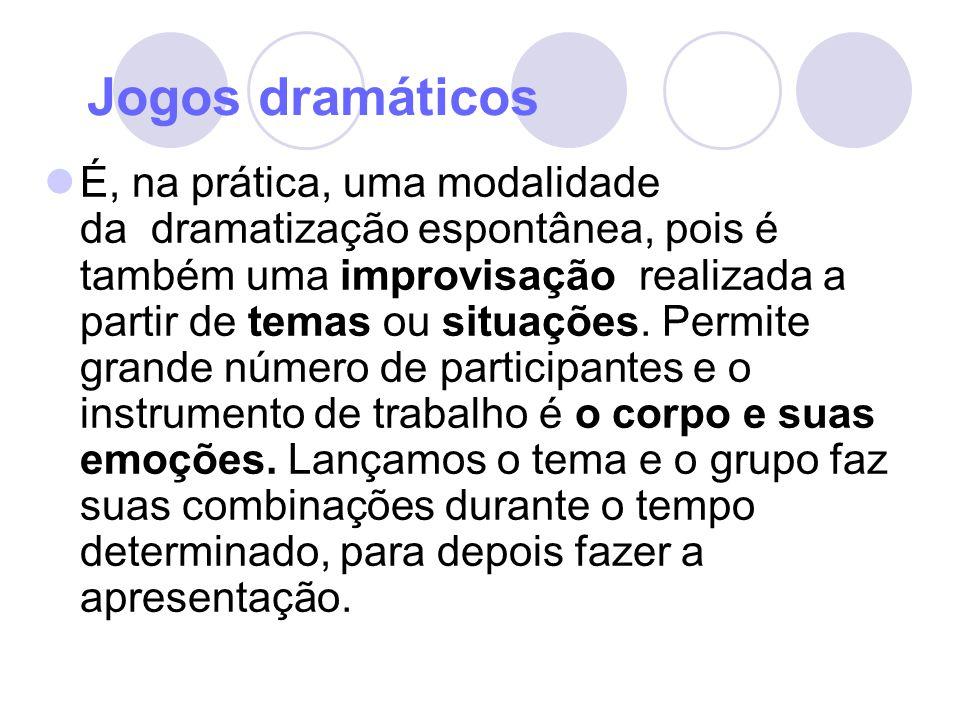 Jogos dramáticos