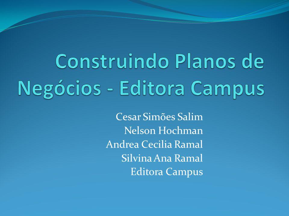 Construindo Planos de Negócios - Editora Campus