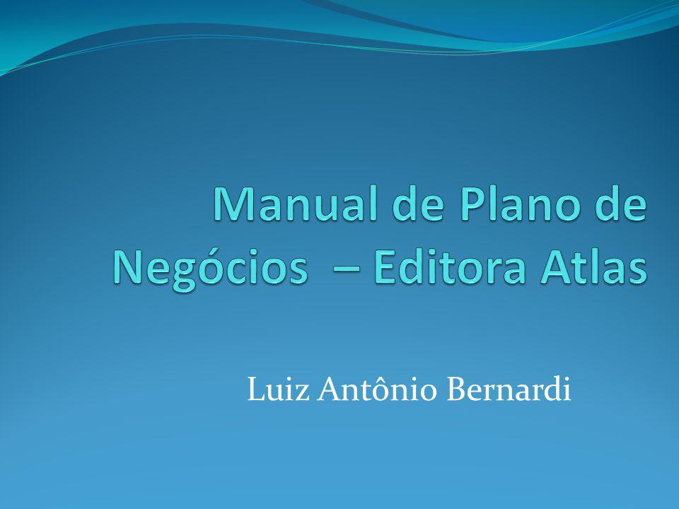 Manual de Plano de Negócios – Editora Atlas
