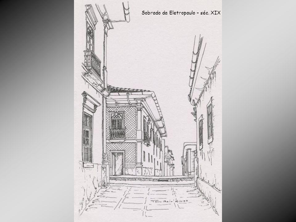 Sobrado da Eletropaulo – séc. XIX