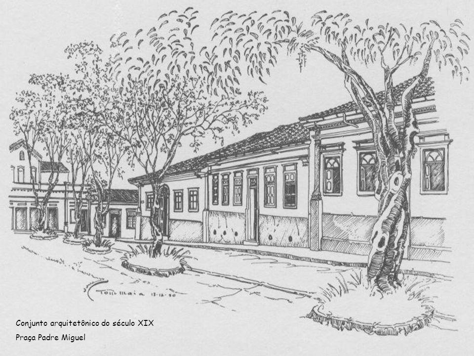 Conjunto arquitetônico do século XIX