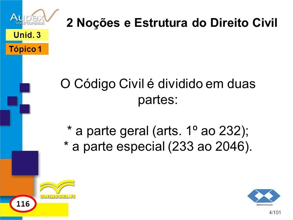 2 Noções e Estrutura do Direito Civil