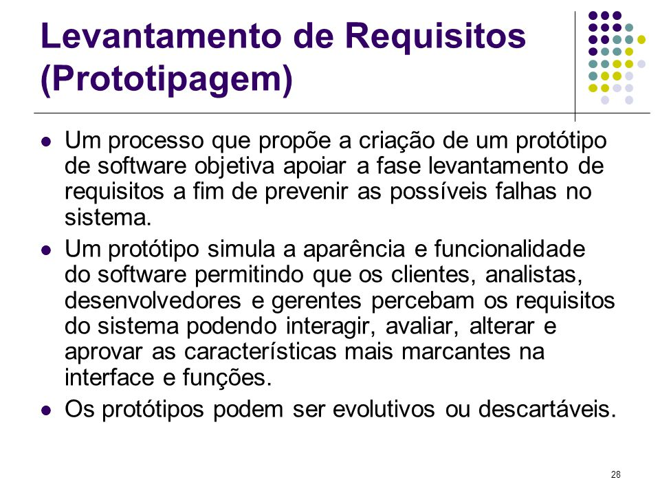 Levantamento de Requisitos (Prototipagem)