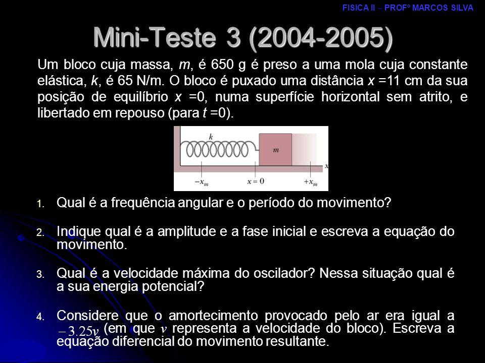 Mini-Teste 3 (2004-2005)