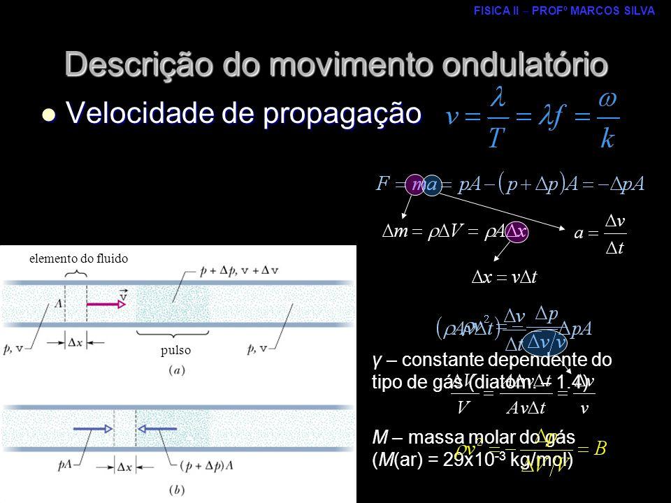 Descrição do movimento ondulatório