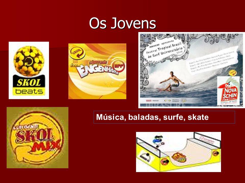 Os Jovens Música, baladas, surfe, skate
