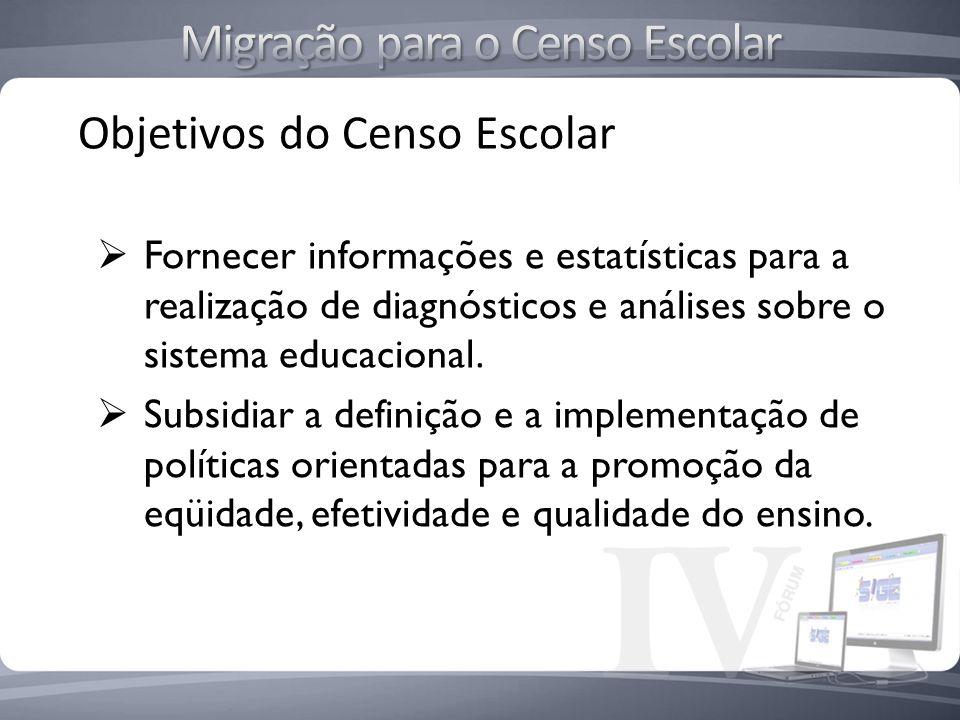 Migração para o Censo Escolar