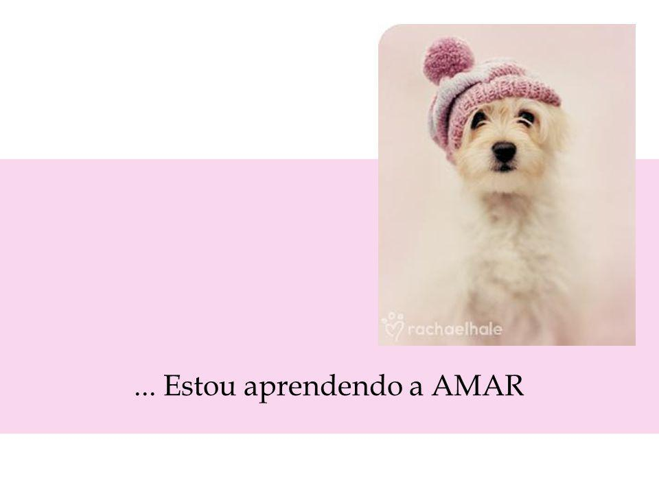 ... Estou aprendendo a AMAR