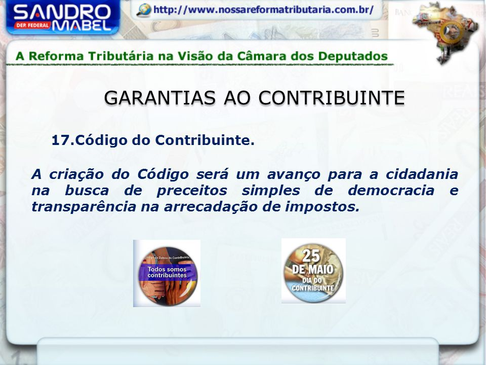 Garantias ao Contribuinte