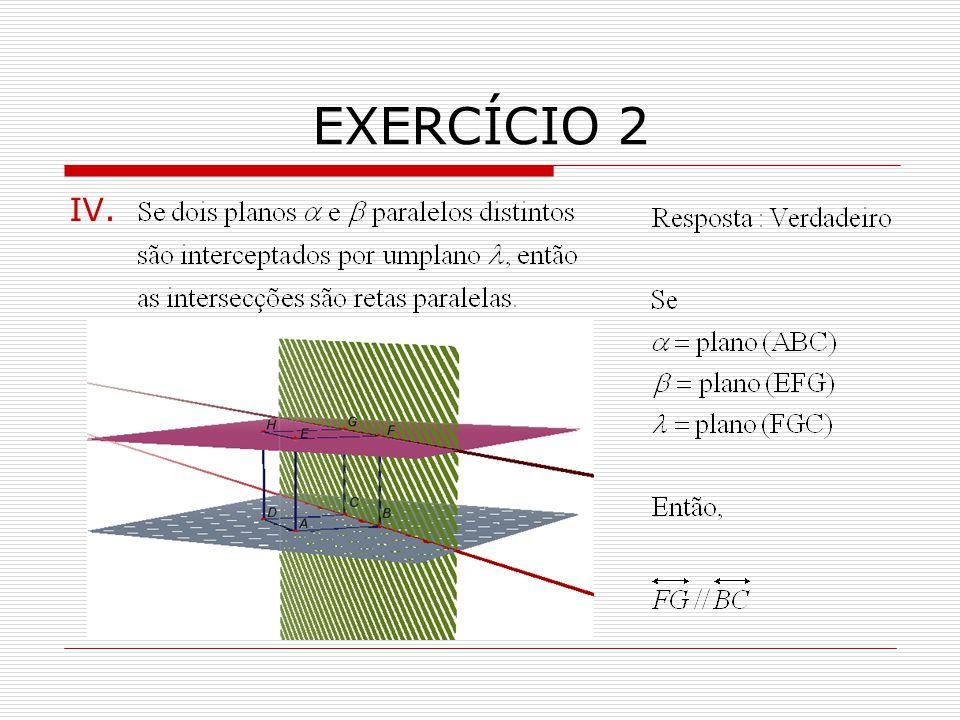 EXERCÍCIO 2 IV.