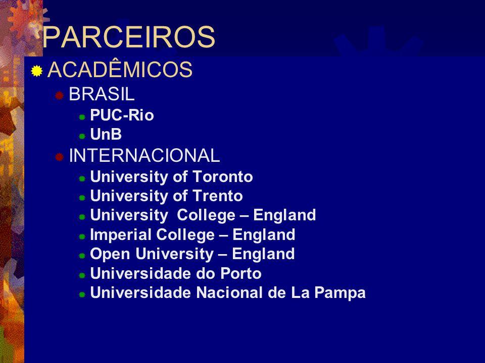 PARCEIROS ACADÊMICOS BRASIL INTERNACIONAL PUC-Rio UnB
