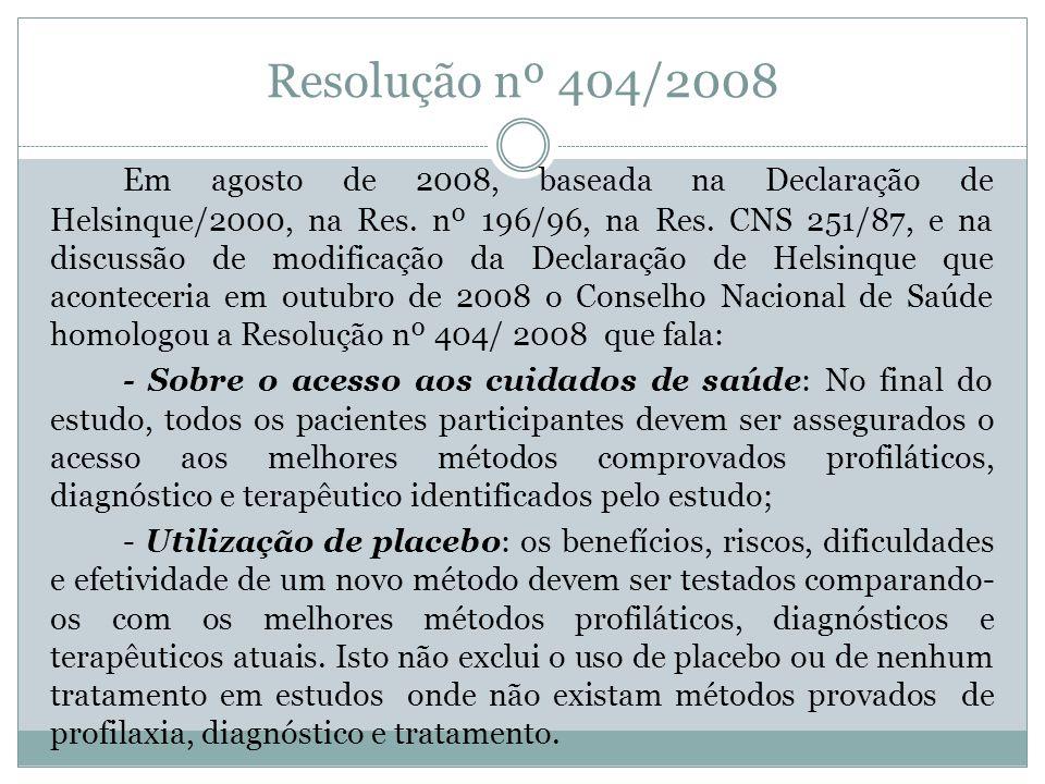 Resolução nº 404/2008