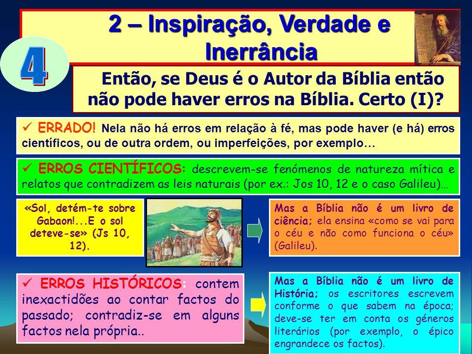 4 2 – Inspiração, Verdade e Inerrância