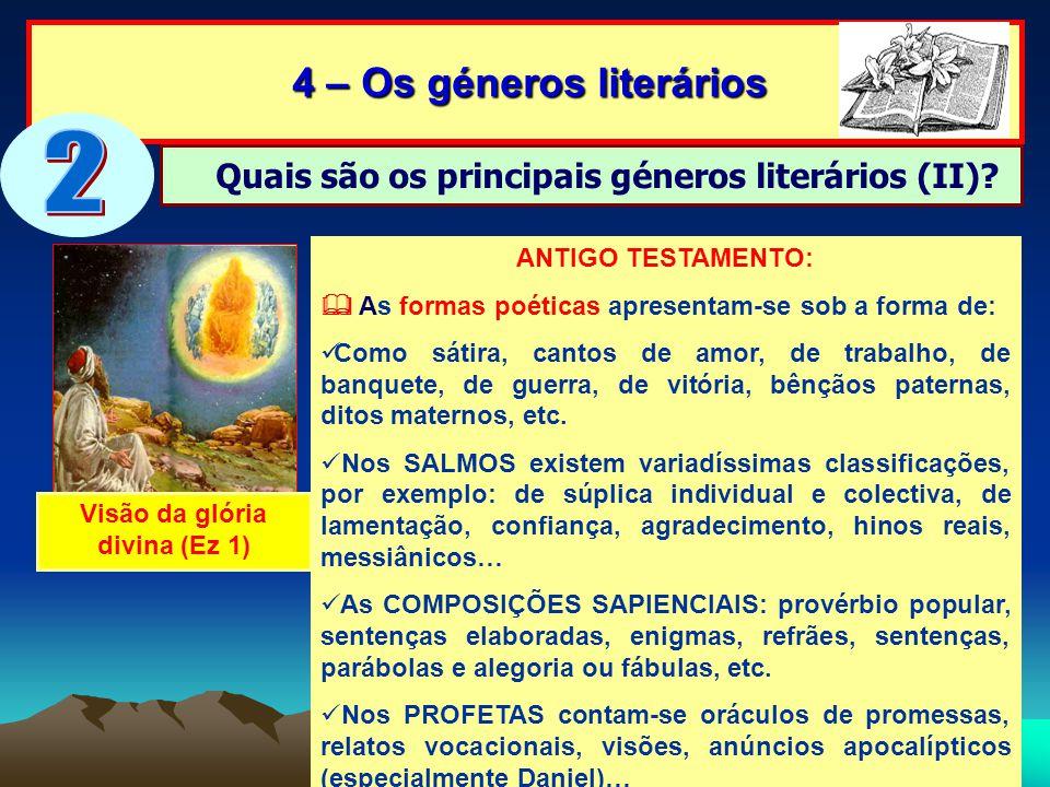 2 4 – Os géneros literários