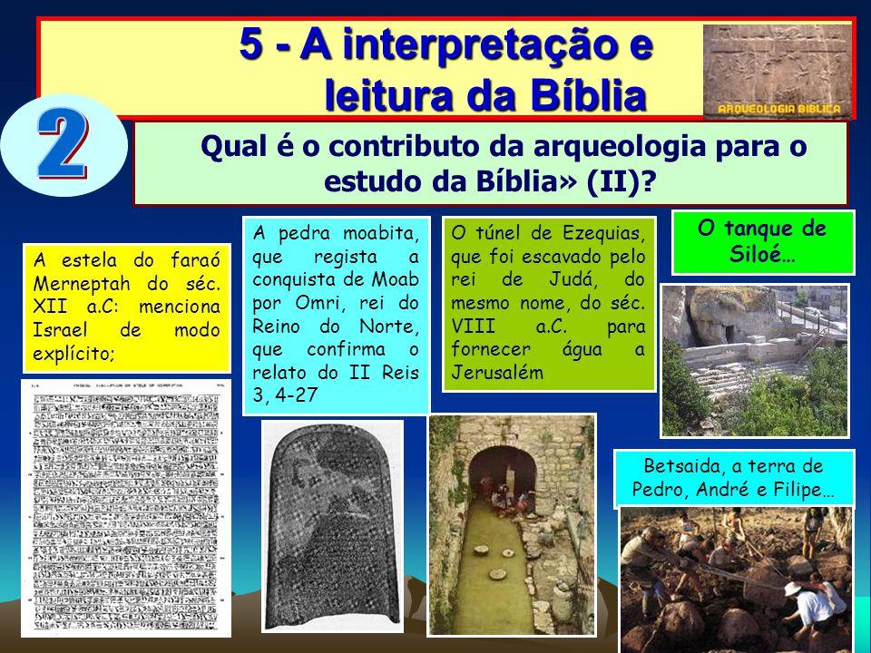 2 5 - A interpretação e leitura da Bíblia