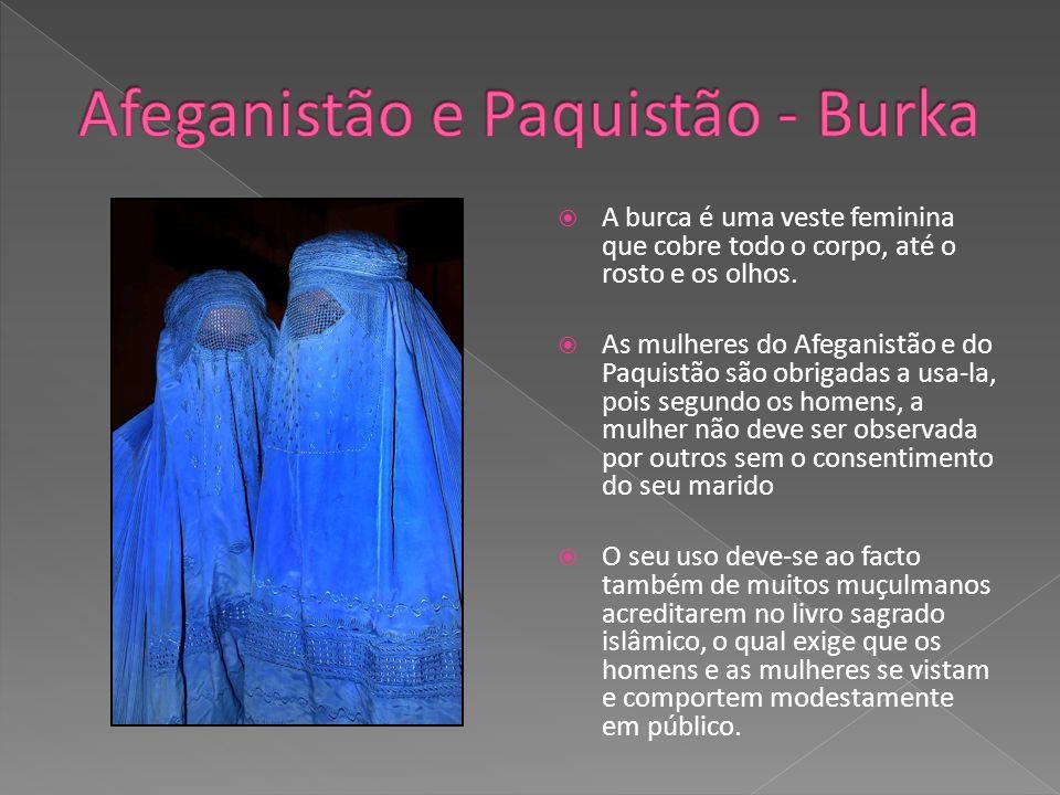 Afeganistão e Paquistão - Burka
