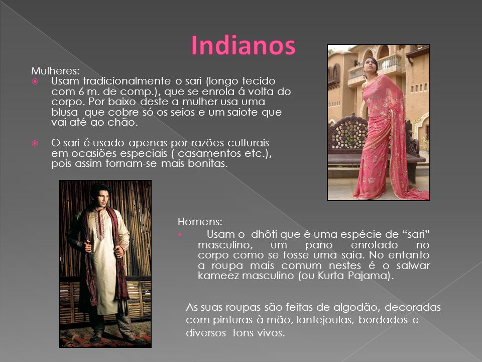 Indianos Mulheres: