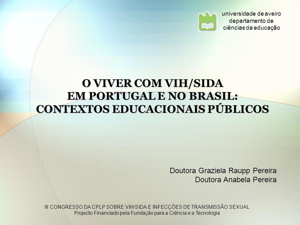 EM PORTUGAL E NO BRASIL: CONTEXTOS EDUCACIONAIS PÚBLICOS